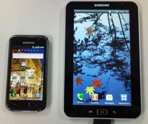 Samsung Galaxy Tab Tablet To Feature Android 2.2, 1.2GHz A8 Processor