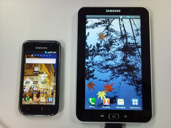 Samsung Galaxy Tab Android Tablet To Come In Three Sizes