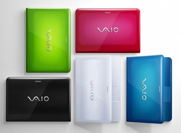 Sony Announces EA, EB And EC Series Vaio Notebooks