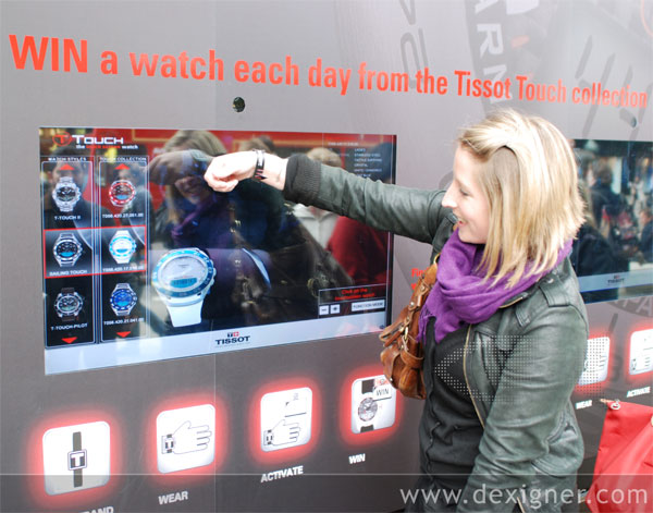 Tissot Launches Augmented Reality Window Display