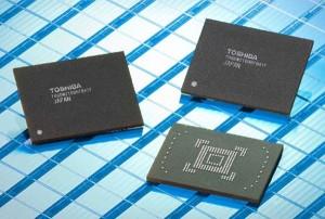 Toshiba Announces 128GB NAND Flash Memory