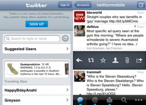 Official Twitter App For iOS 4 Now Available