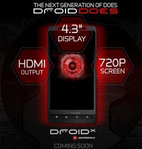 Verizon Motorola Droid X Appears On Verizon Site