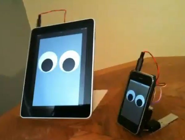 The Walking iPad Robot