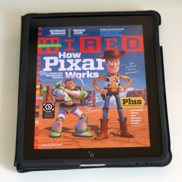 Wired's iPad App Produced Using Adobe Software