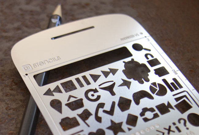 Android User Interface Stencil Kit