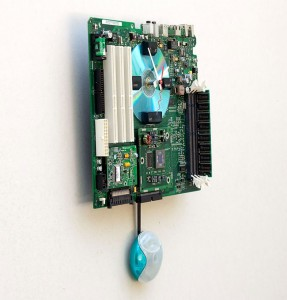Apple G3 Recycled Motherboard Clock