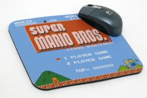 Custom NES Mouse Pads