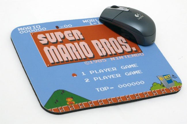 Custom Nes Mouse Pads