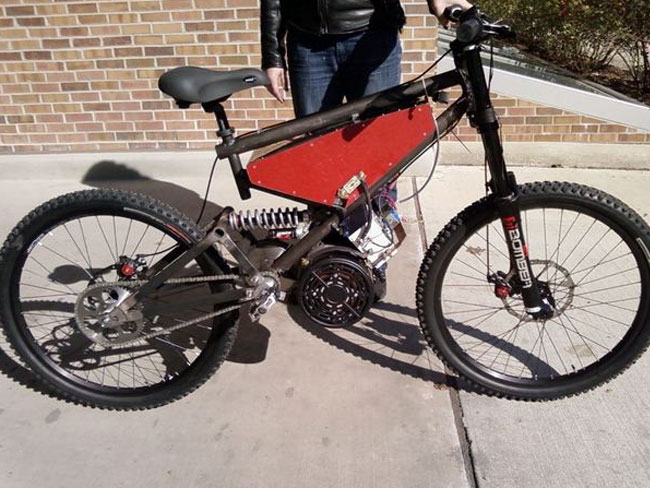 Diy Electric Mountian Bike