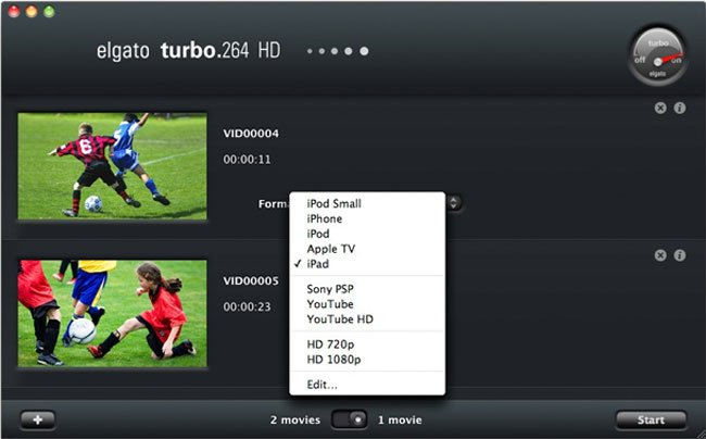 Elgatp Turbo.264 HD Software Edition Mac