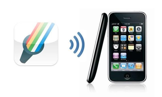 Flash Light iPhone App With Hidden Tethering