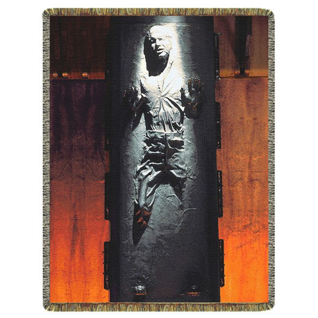 Han Solo Frozen In Carbonite Blanket