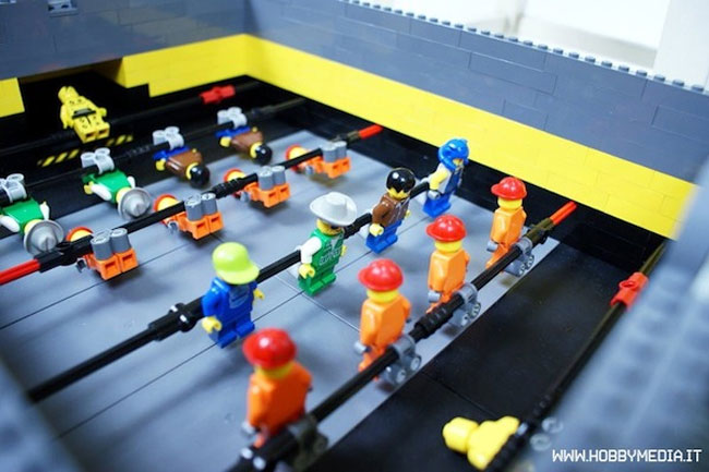 Lego Football Table