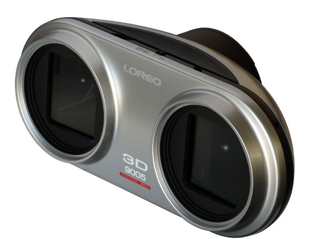 Loreo Lens Coverts Your Canon DSLR Into 3D