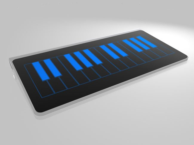 Magicboard Bluetooth Keyboard Concept