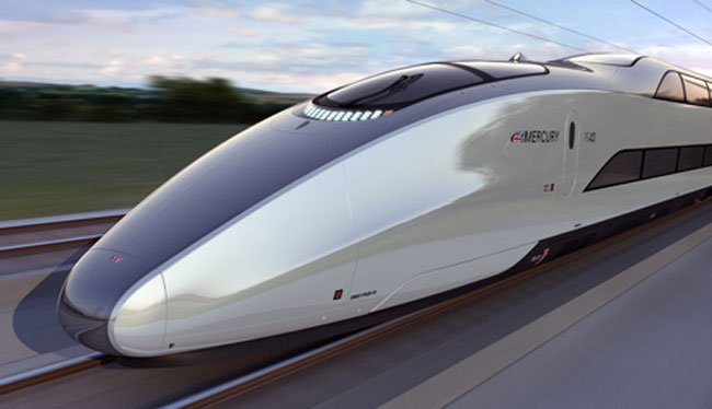 Mercury Bullet Train