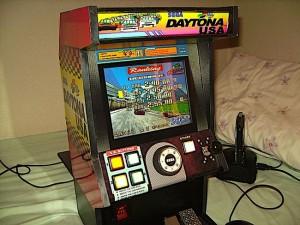 Mini Daytona Arcade Cabinet
