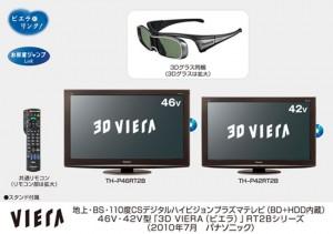 Panasonic 3D Plasma TV