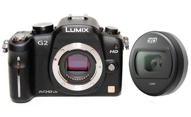 Panasonic Announces 3D Lens For Lumix G