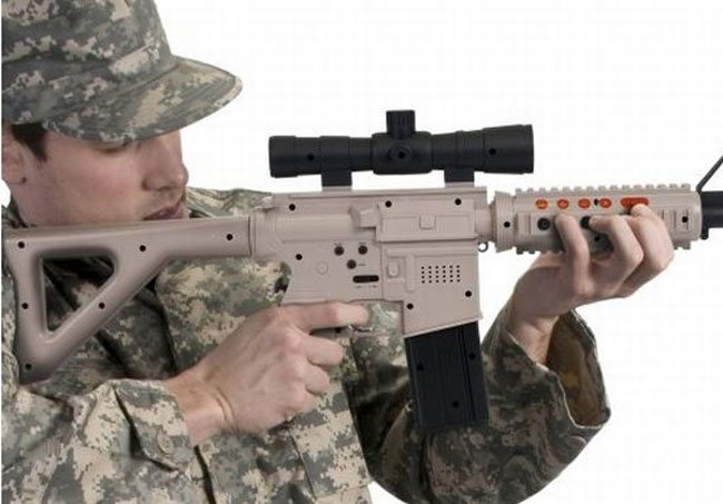 PlayStation 3 Assualt Rifle Controller