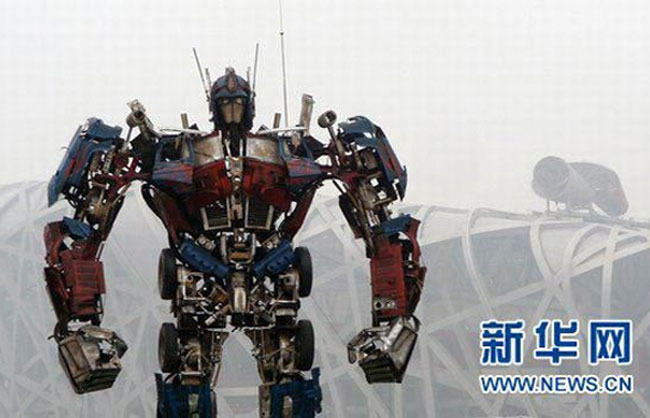 recycled Optimus Prime