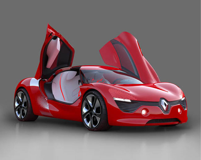Renault DeZir Electric Sports Cars Charges In Just 20 Minutes