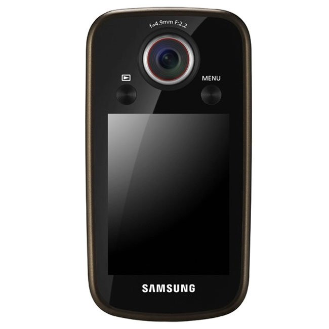 Samsung HMX-E10 Pocket Full HD Camcorder With Swivelling Lens Announced