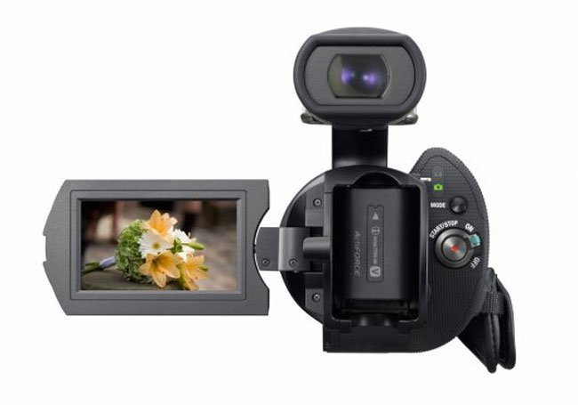 Sony NEX-VG10 Interchangeable Lens HD Camcorder