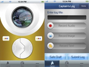 Star Trek Captains Log iPhone App