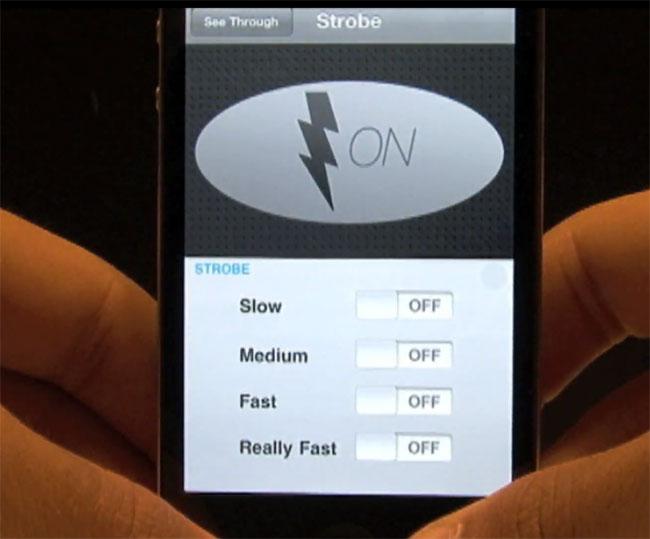 Strobe Pro iPhone App