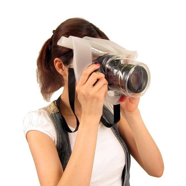 Transparent DSLR Camera Bag Lets You Shoot In The Rain