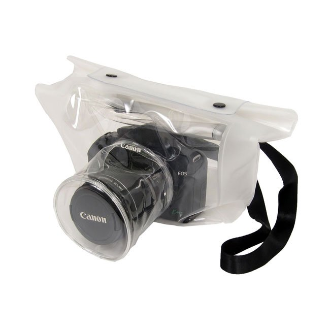 Transparent DSLR Camera Bag Lets You Shoot In The Rain