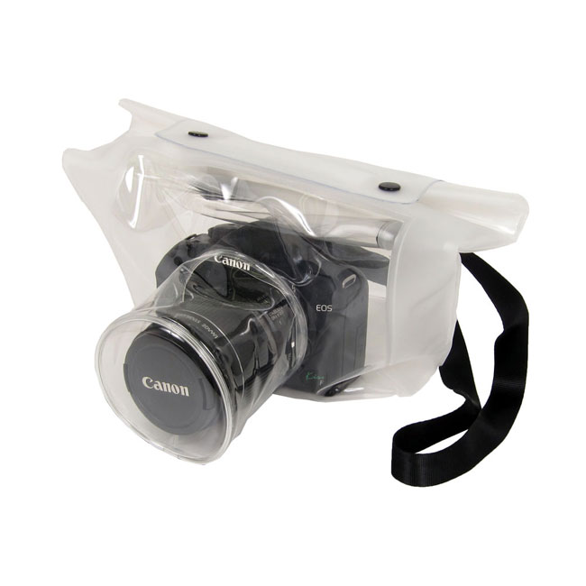 transparent dslr camera bag lets you shoot in the rain. Black Bedroom Furniture Sets. Home Design Ideas