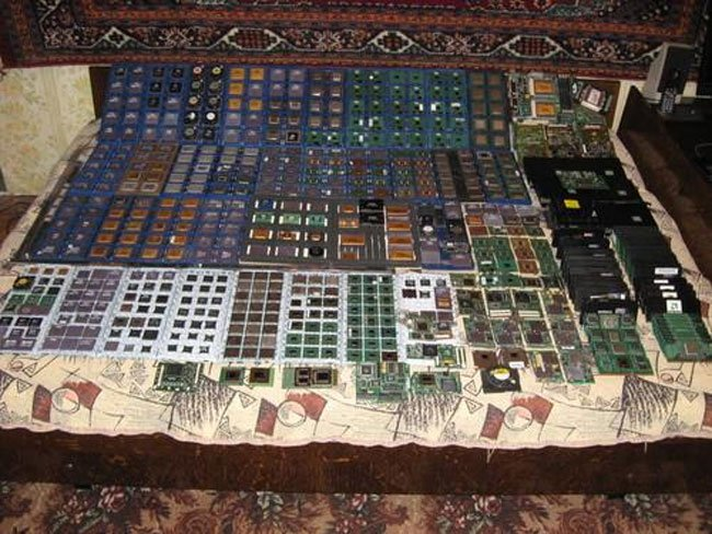 The World's Biggest CPU Collection?