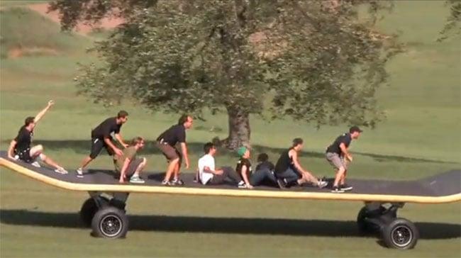 Worlds Largest Skateboard