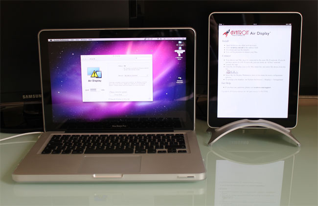 Air Display ipad App
