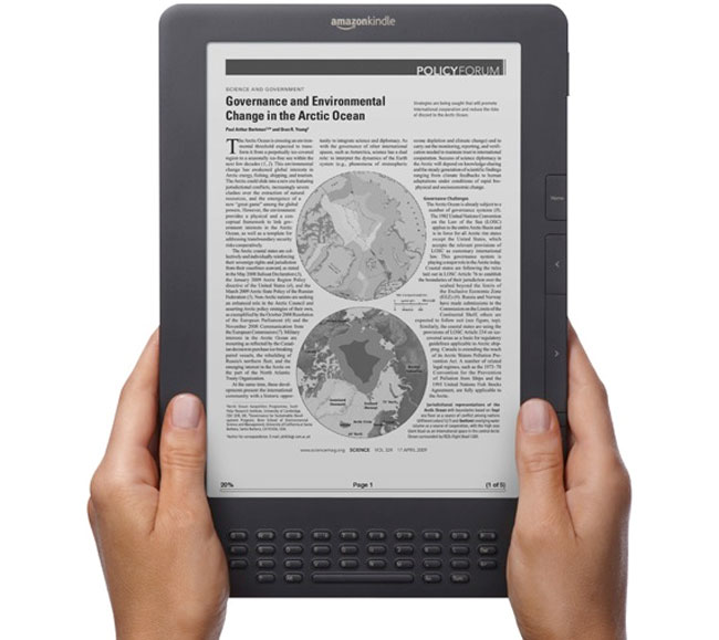 New Amazon Kindle DX Now Available