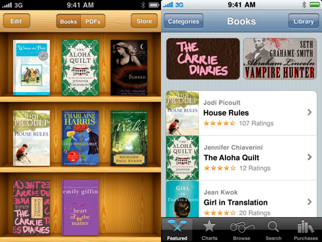 Apple Updates iBooks App