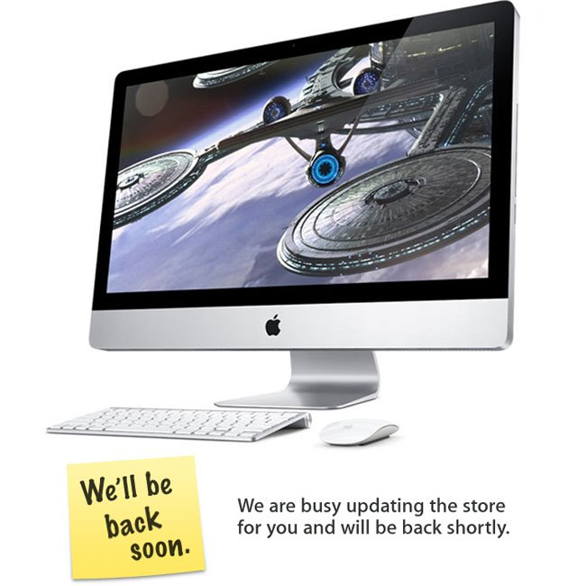 Apple Store Goes Down, New iMacs And Mac Pros Coming Today?