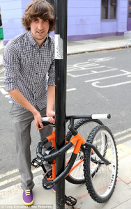 Bendable Bike Can Wrap Around Posts