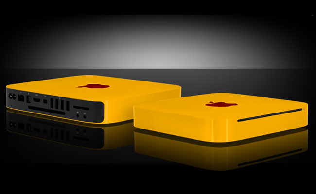 Apple's Mac Mini Gets The Colorware Treatment