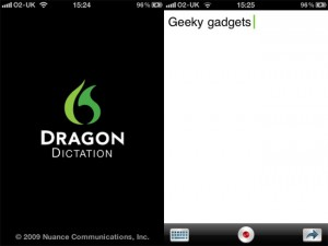 Dragon Dictation iPhone App Headed To The UK