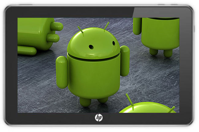 hp android tablet