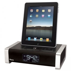 iHome iA100Ze iPad Alarm Clock Dock