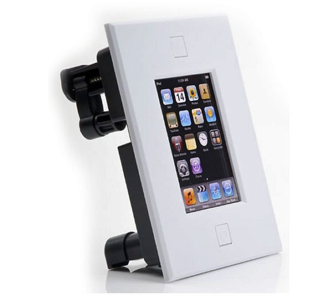 iphone wall mount iport in wall mounts for iphone and ipods 3352