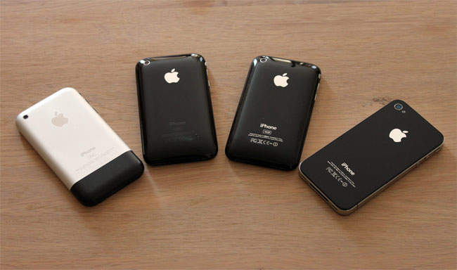 iPhone 2g, 3g, 3gs and iPhone 4