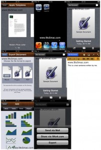 iWork For iPhone Leaked Images