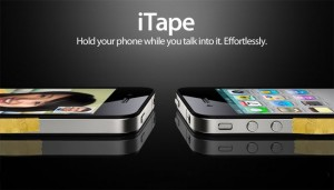 iTape Will Solve Your iPhone 4 Reception Issues