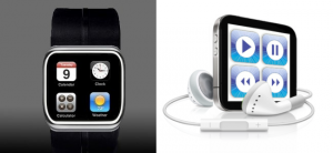 Crazy Mockups: Touch Nano and iWatch